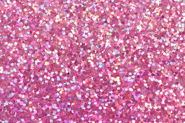 Pink glitter texture Pink bright glitter texture. High resolution photo. glittering stock pictures, royalty-free photos & images