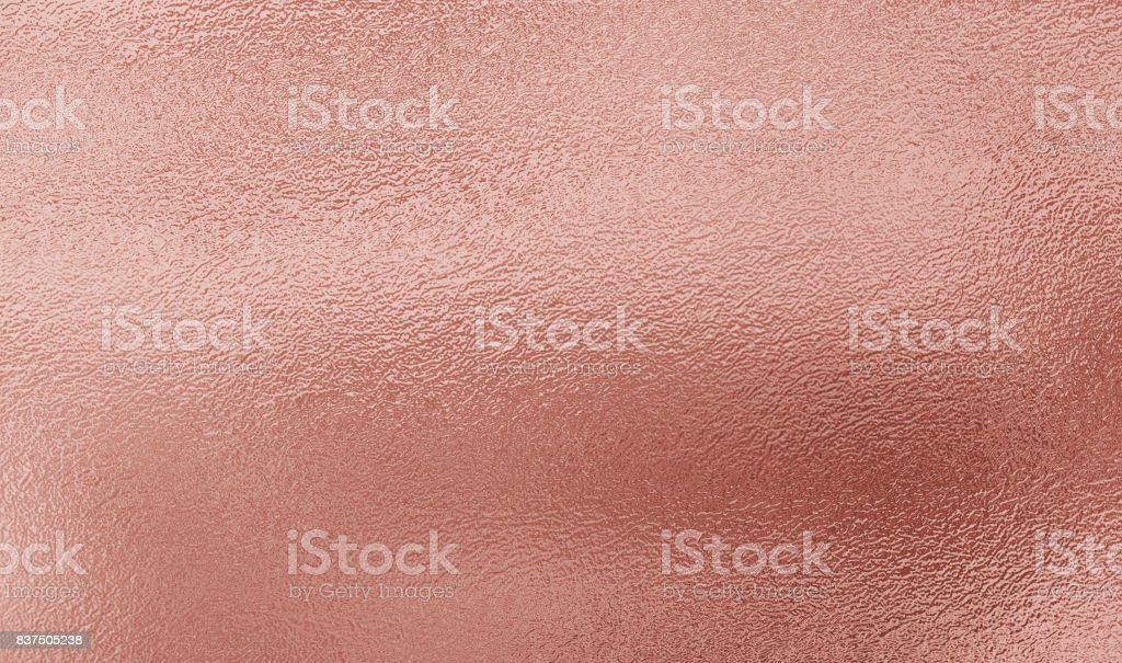 Pink gold foil texture background stock photo