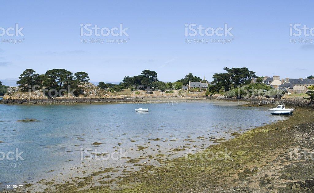 Pink Granite Coast royalty-free stock photo