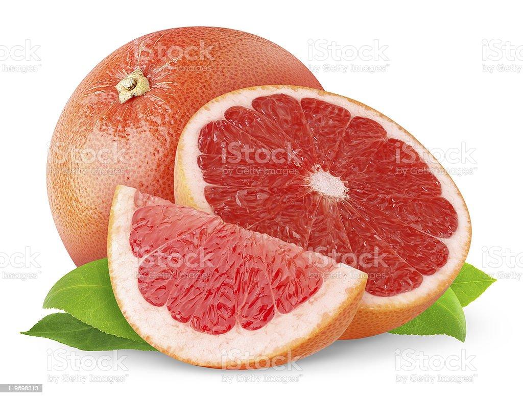 Pink grapefruit royalty-free stock photo