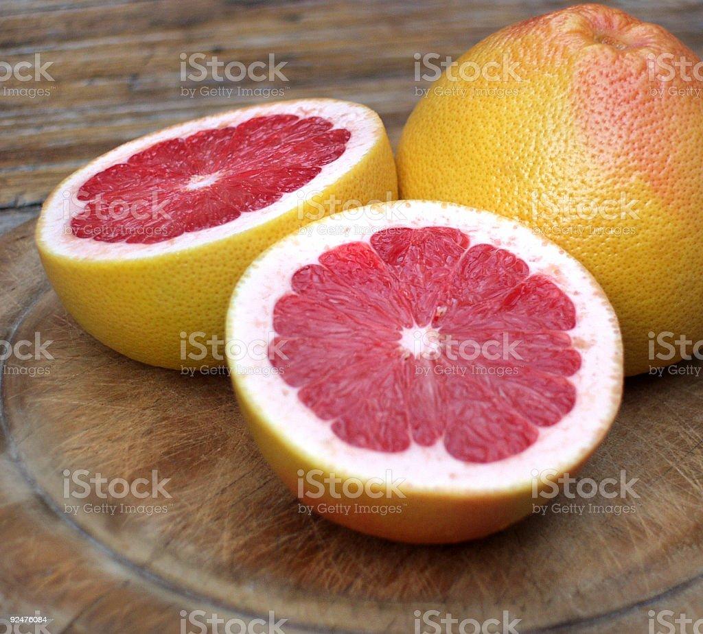 pink grapefruit Lizenzfreies stock-foto