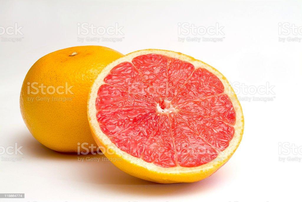 Pink Grapefruits royalty-free stock photo