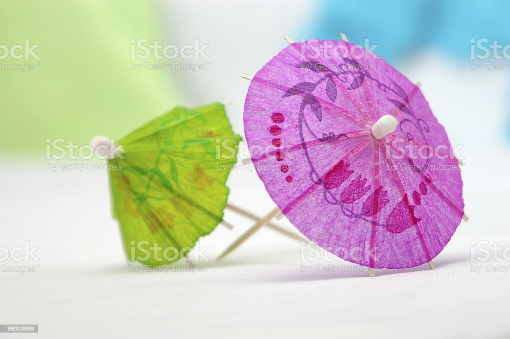 pink & green royalty-free stock photo