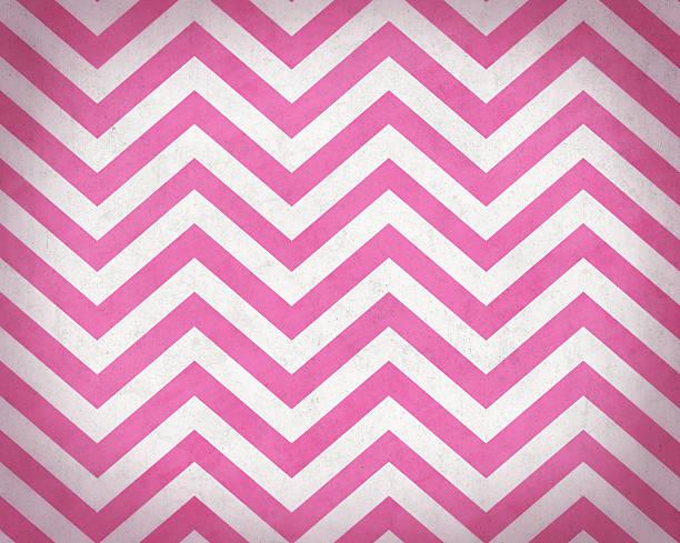 Pink Grunge Textured Chevron Background stock photo