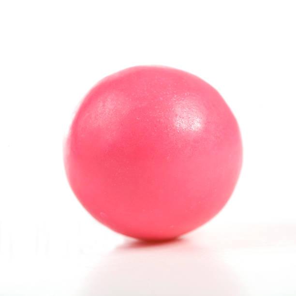 pink gumball - sakız şekerleme stok fotoğraflar ve resimler