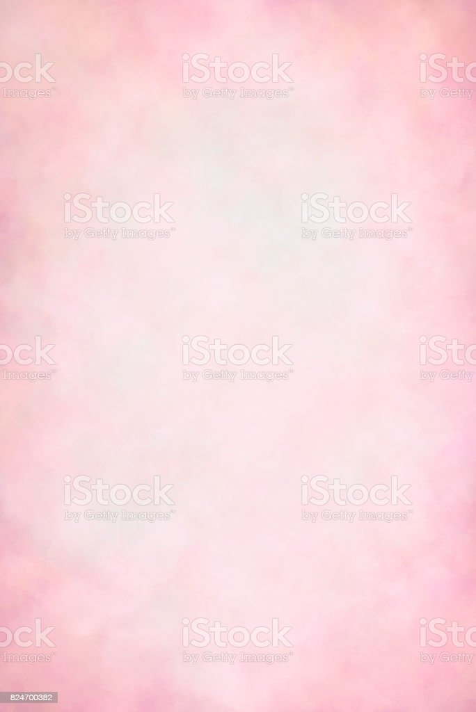 Pink hand painted backdrop stock photo