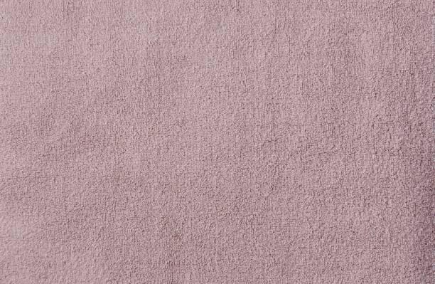 rosa hand handtücher textur - teppich baumwolle stock-fotos und bilder