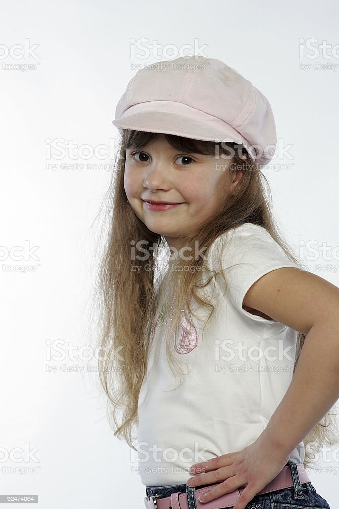 Pink Hat 0008 royalty-free stock photo