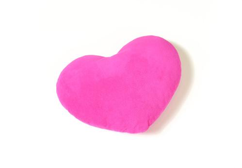 Pink heart  pillow, cushion