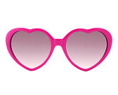 Pink heart shaped Sunglasses