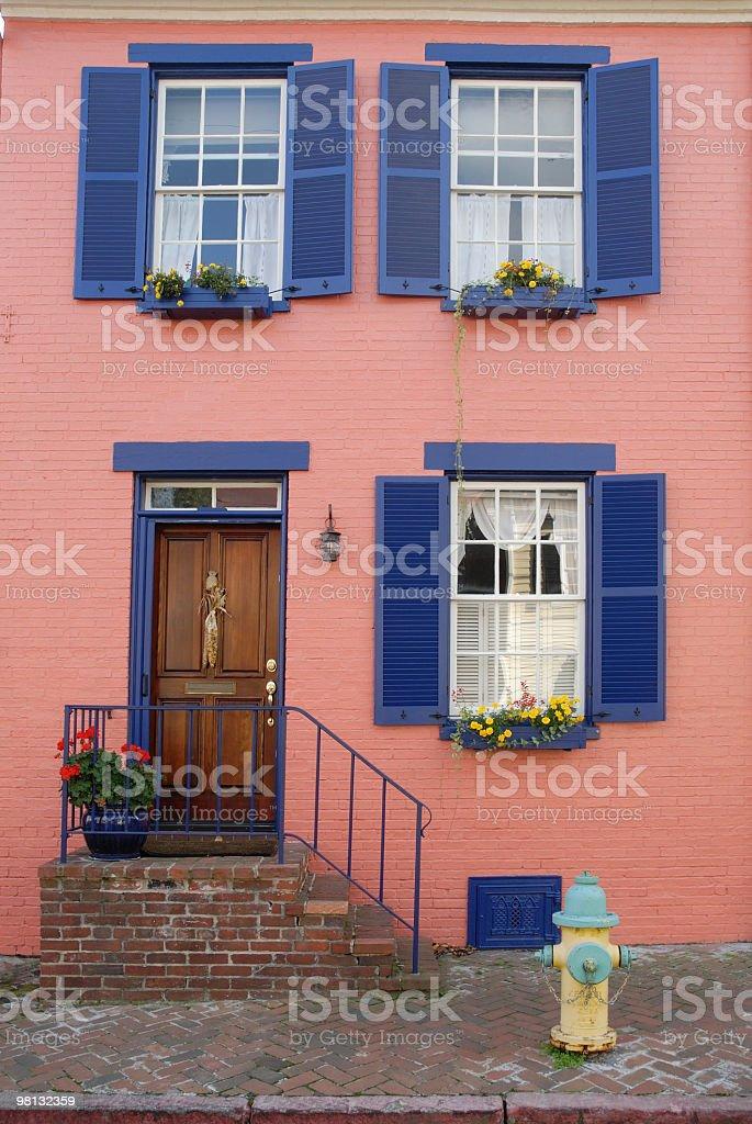 Rosa House foto stock royalty-free