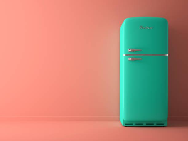 Retro Kühlschrank Blau : Kühlschrank retro bilder und stockfotos istock