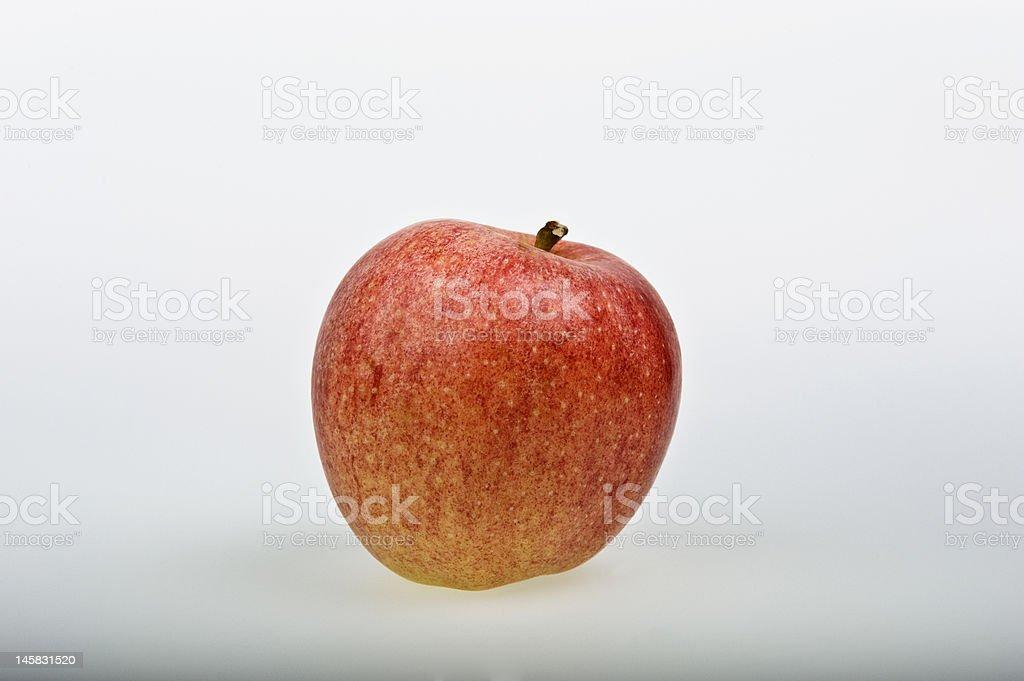 pink lady apple stock photo