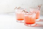 istock Pink lemonade drink 1246371982