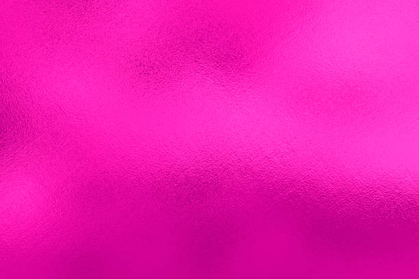 pink lilac foil background, metal texture - magenta stock photos and pictures