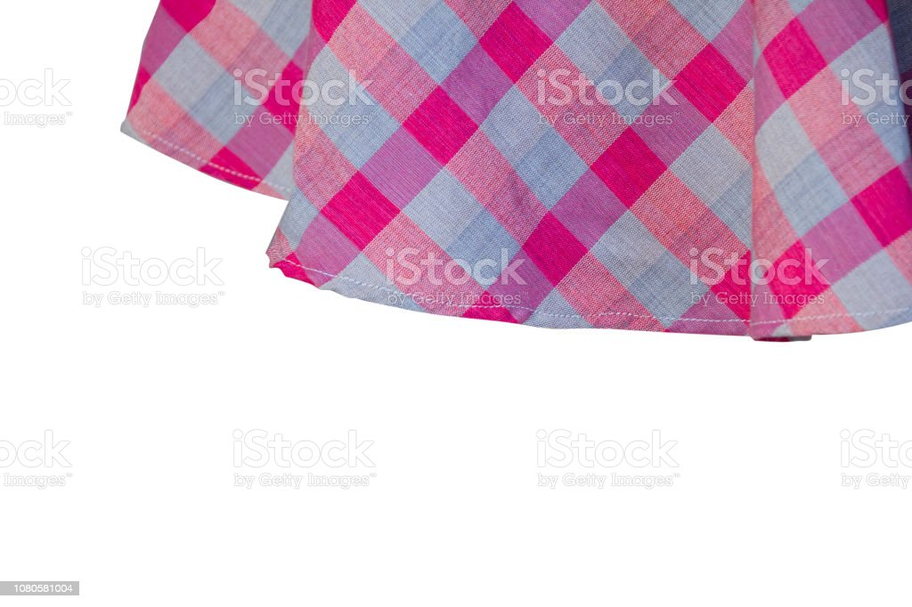 pink loincloth isolated with background stock photo