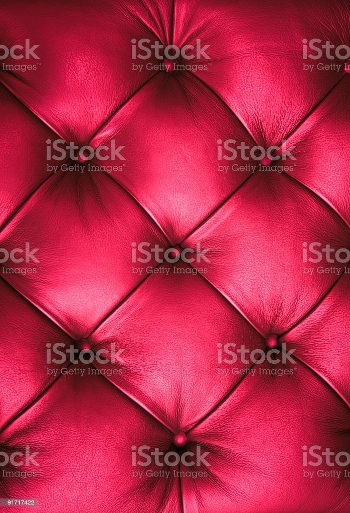 Pink Luxury Leather stock photo