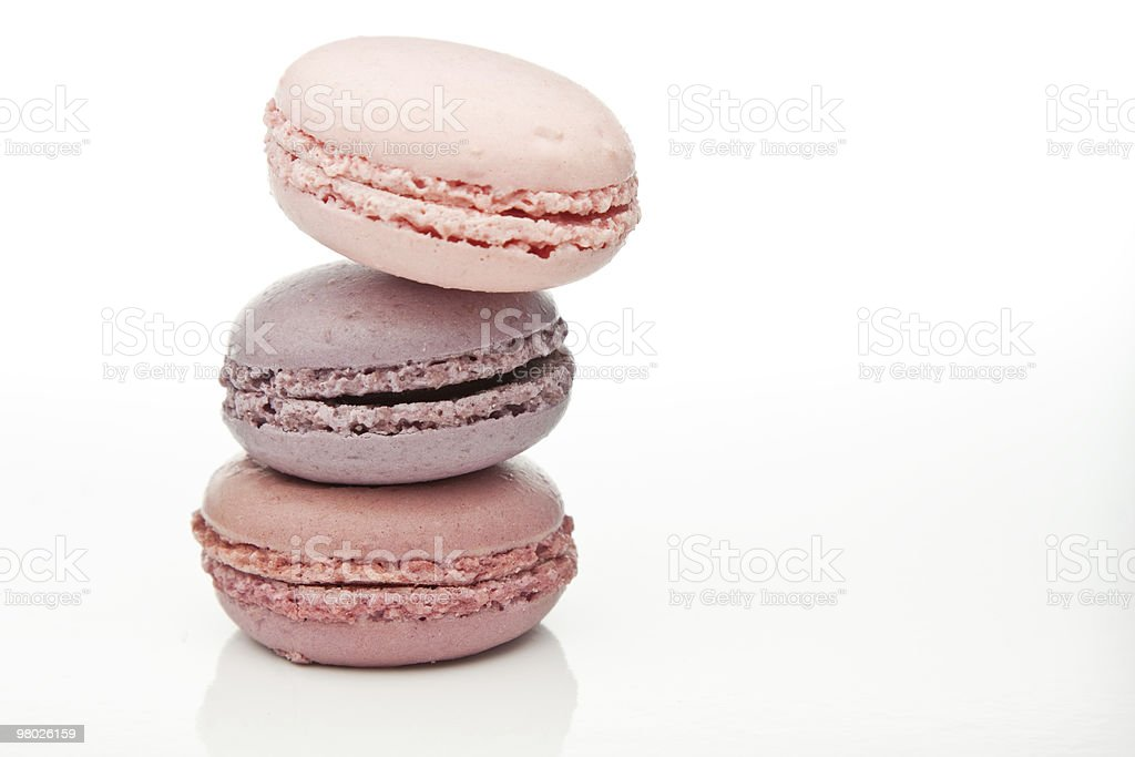 Pink Macaroons royalty-free stock photo