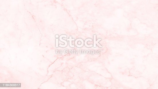 istock Pink marble texture background, abstract marble texture (natural patterns) for design. 1184300317