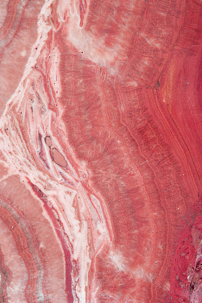 pink marble texture - rose quartz stock photos and pictures