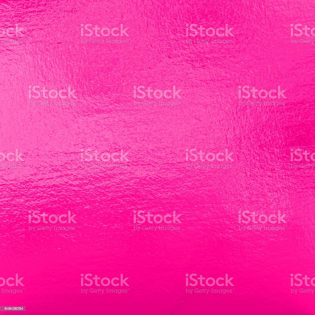 Pink metallic foil background