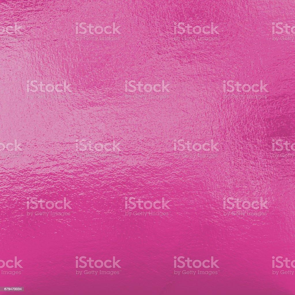 粉紅色的金屬箔 免版稅 stock photo