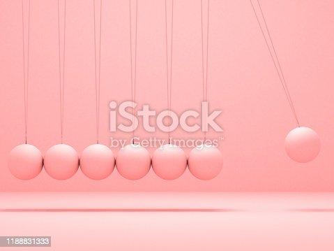 pink newton balance