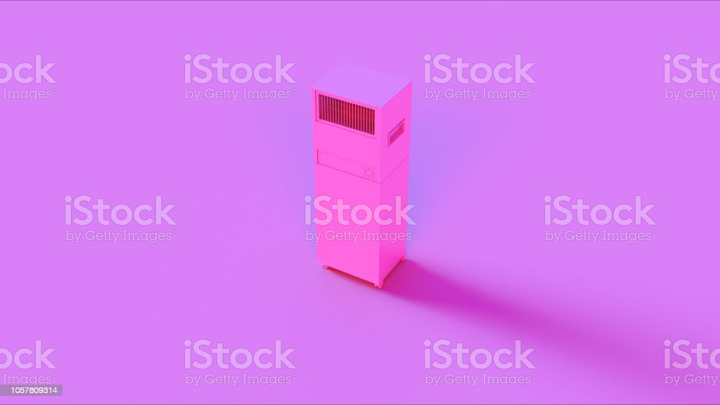 Pink Office Server Room Cooler stock photo