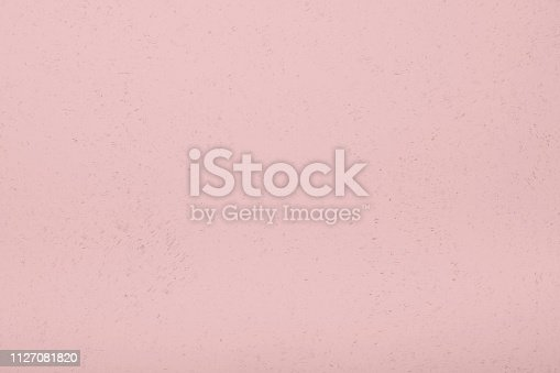 pink or coral color shabby chic distressed paint texture background with copy space