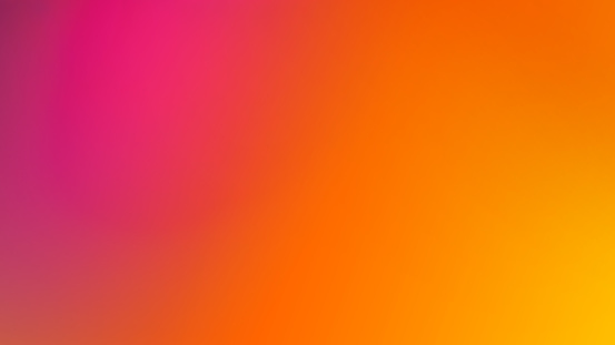 Pink, Orange and Yellow Gradient Defocused Blurred Motion Abstract Background