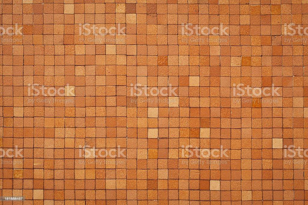 Pink Orange Tile Wall Texture royalty-free stock photo