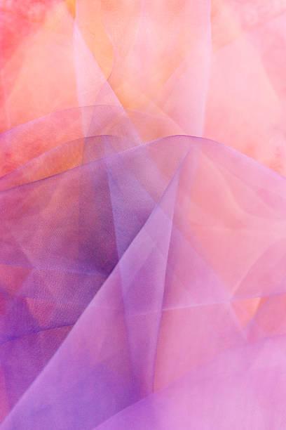 organza różowy tkanina - tiul tkanina zdjęcia i obrazy z banku zdjęć