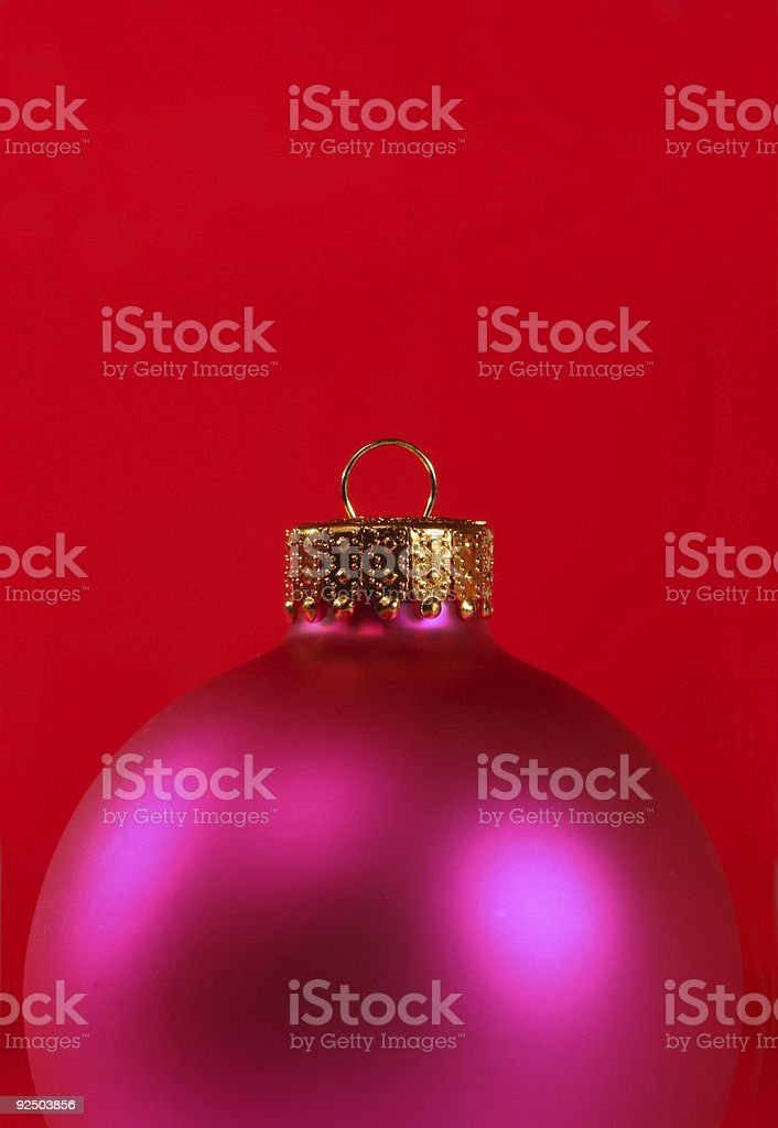 pink ornament royalty-free stock photo