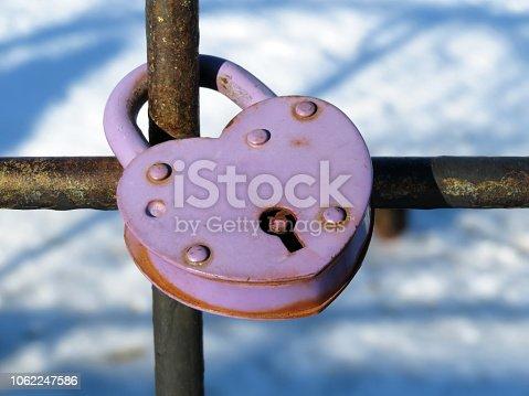 Snow weather, symbol of eternal love