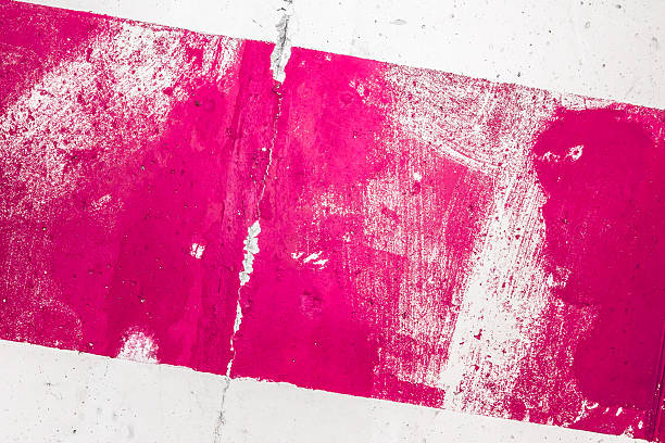 pink painted grunge texture - magenta stock photos and pictures