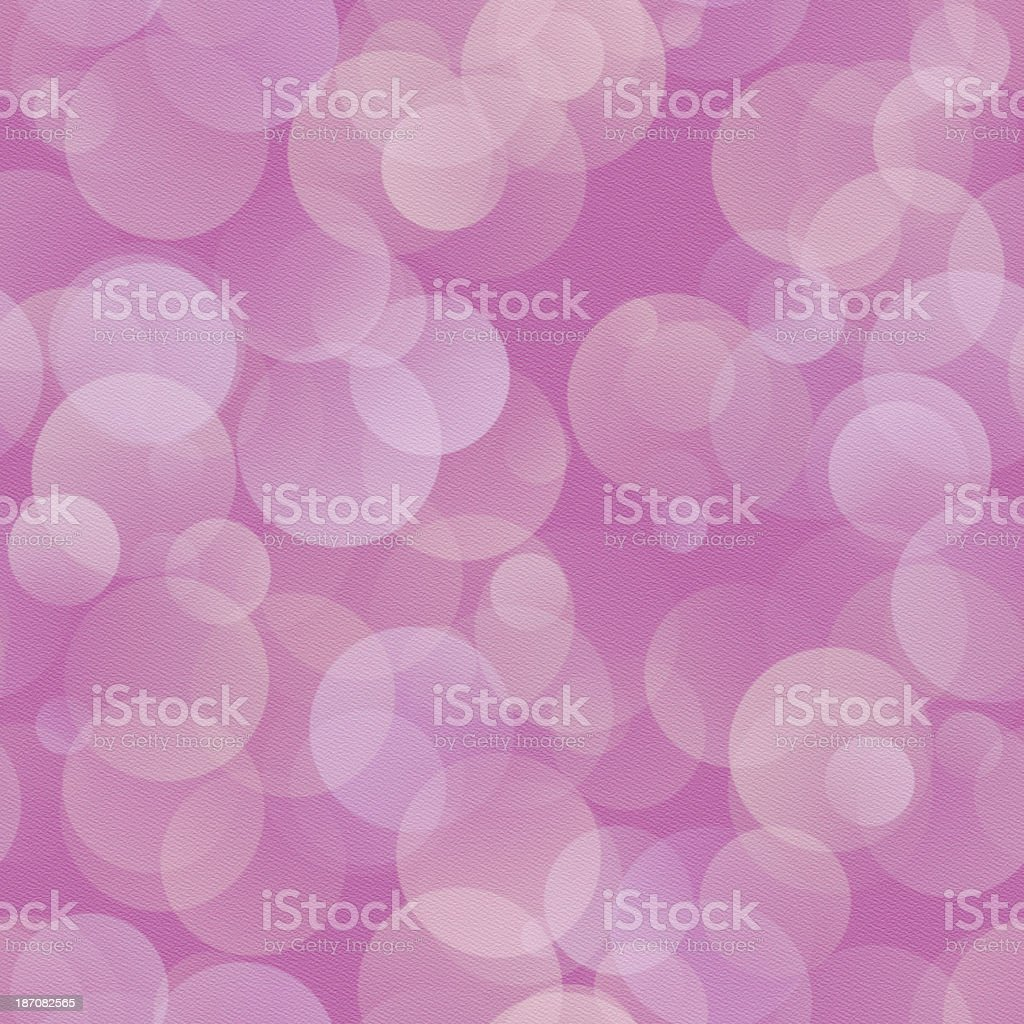 Pink paper with seamless translucent circle pattern royalty-free stock photo