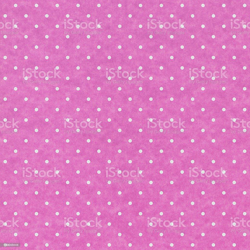 Carta Rosa Con Pois Bianchi Fotografie Stock E Altre Immagini Di
