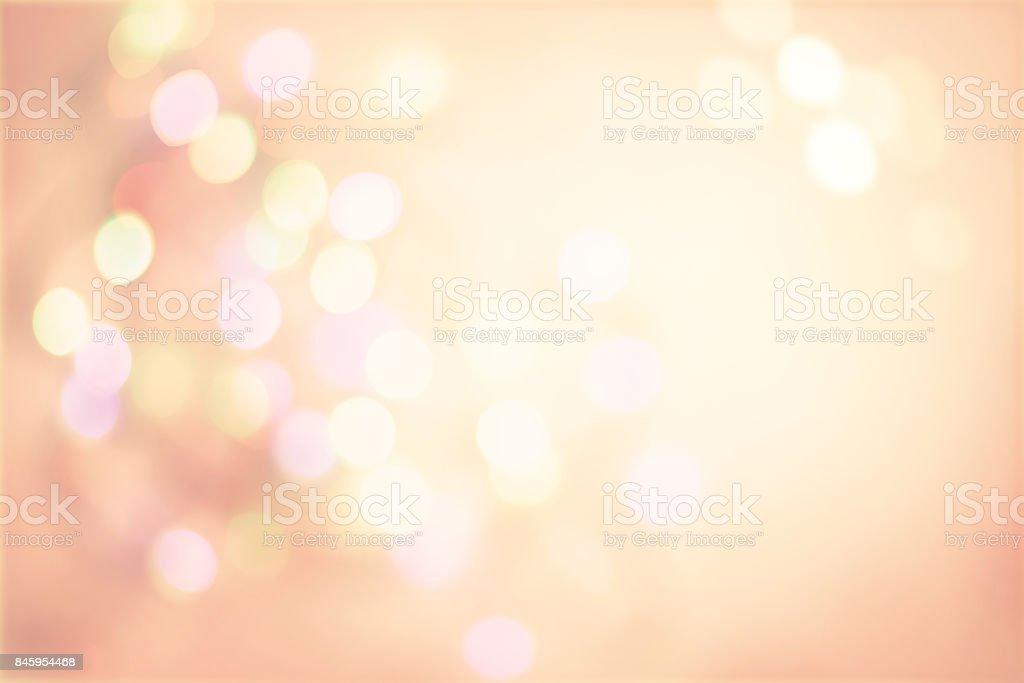Pink Pastel Vintage Background with Defocused Spots Light boke stock photo