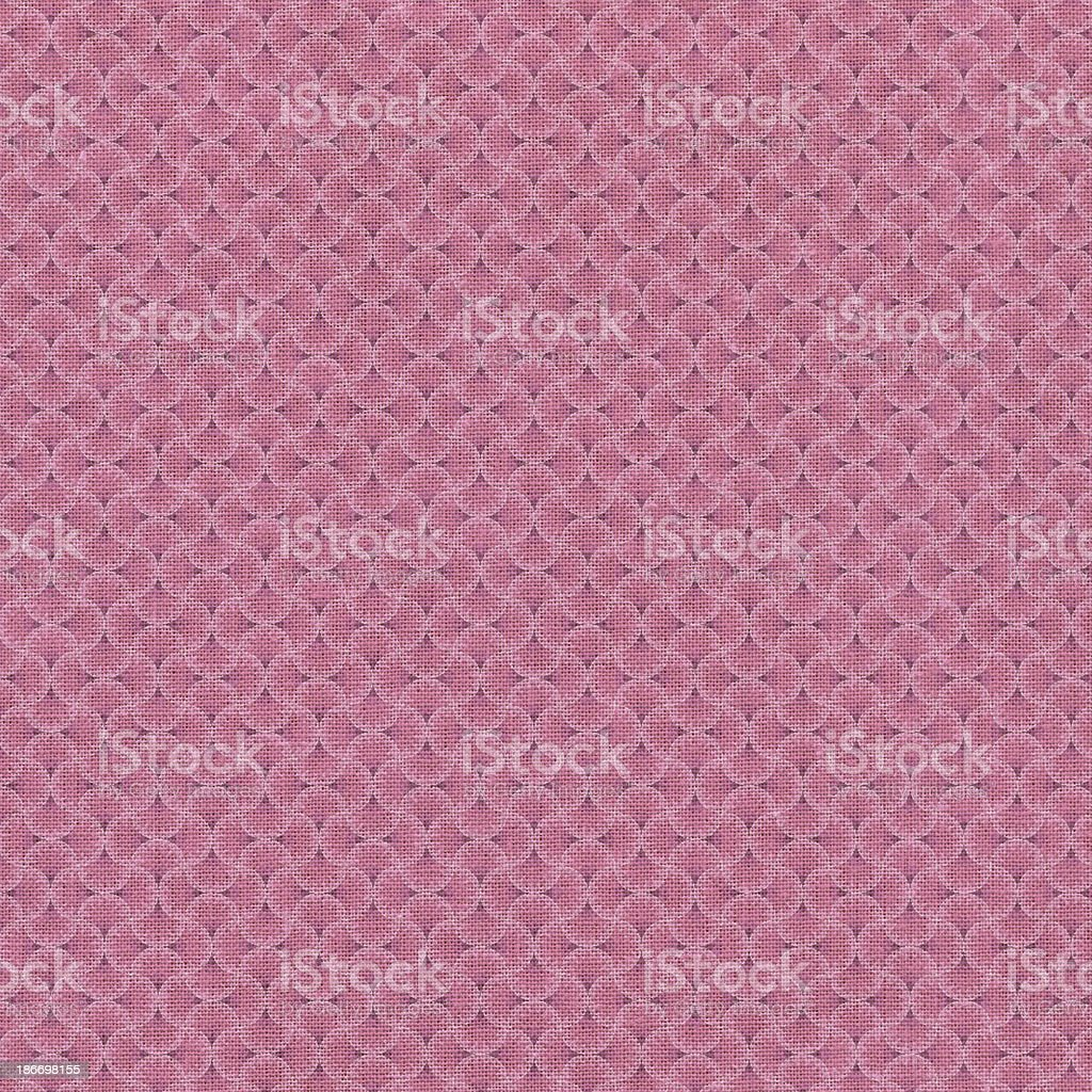 Pink Patterned Textile royalty-free stock photo
