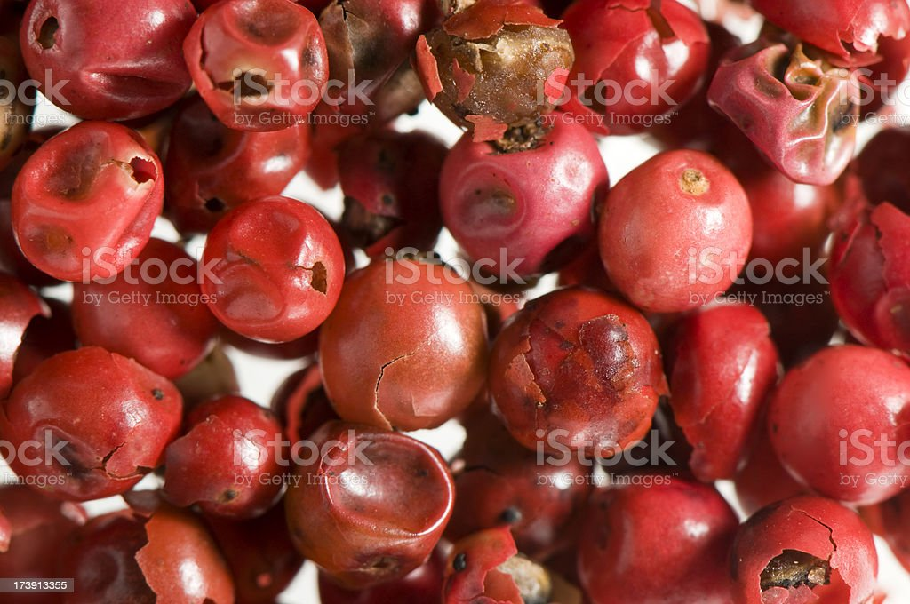 Pink pepper royalty-free stock photo