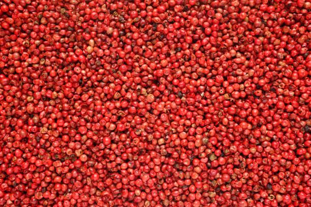 Fond de grains de poivre rose - Photo