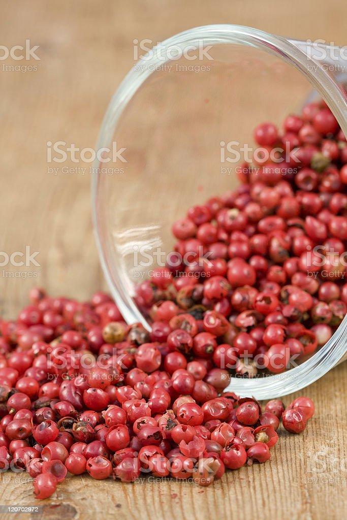 Pink Peppercorns royalty-free stock photo