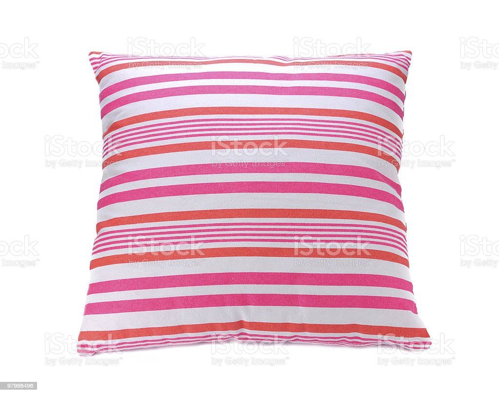 Pink pillow royalty-free stock photo