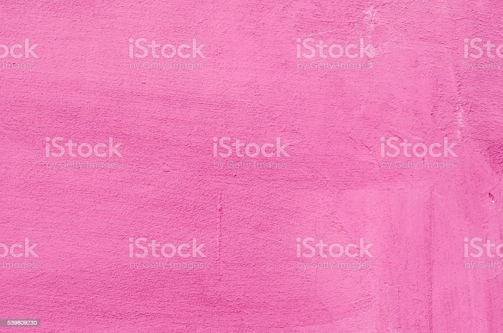 Pink plastered wall background stock photo