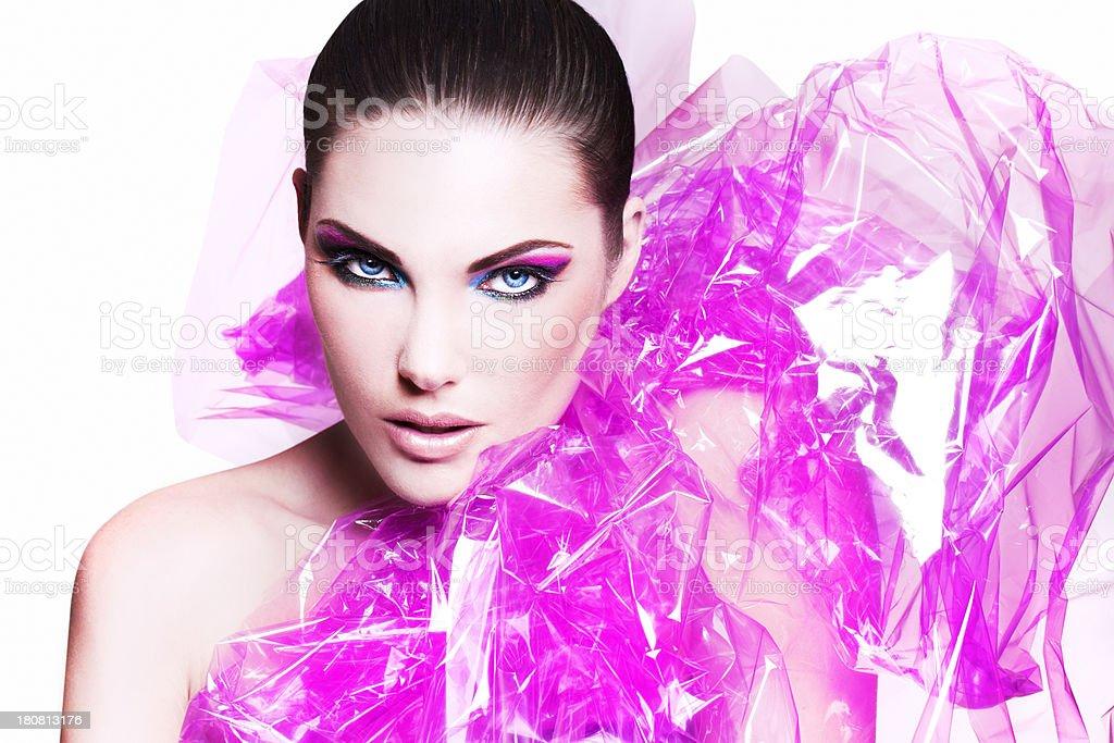 Pink Plastic Beauty royalty-free stock photo