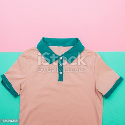640200626istockphoto pink Polo shirt 640200372