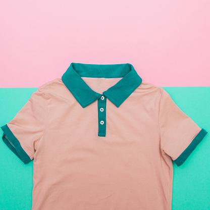 640200626 istock photo pink Polo shirt 640200372
