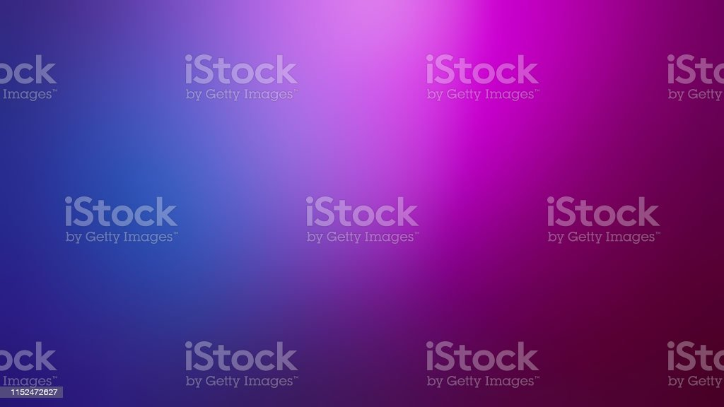 Pink, Purple and Navy Blue Defocused Blurred Motion Gradient Abstract Background - Royalty-free Abstrato Foto de stock