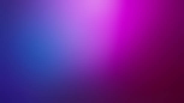 pink, purple and navy blue defocused blurred motion gradient abstract background - różowy zdjęcia i obrazy z banku zdjęć