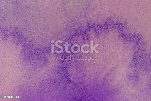 istock pink purple and white watercolor textured background 957994244